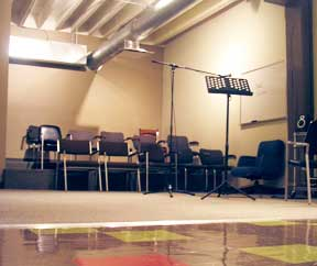 "Theatre 2 is also known as ""The Middle Room."" Well, because it is in the middle of our space!"