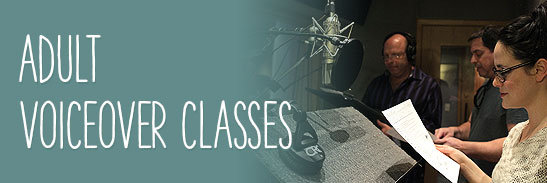 Voiceover Classes for Adults