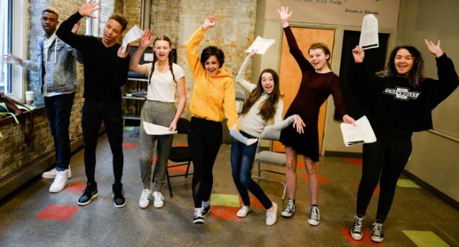 Drama camp for Kids Teamwork