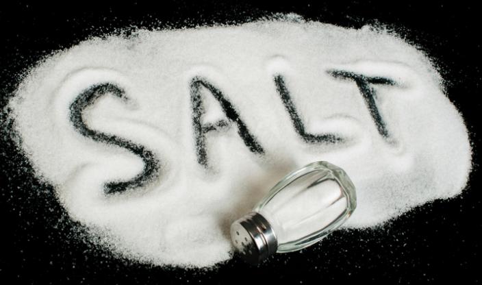 salt gargle